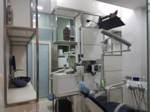 Fully Equipped Clinic for complete Dental Care